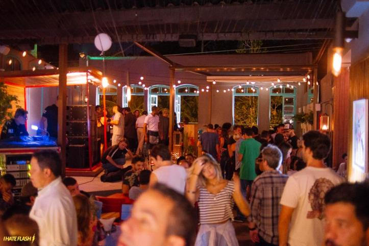 Bar SOBE no Jardim Botânico no dia da inauguração (Foto: I Hate Flash)