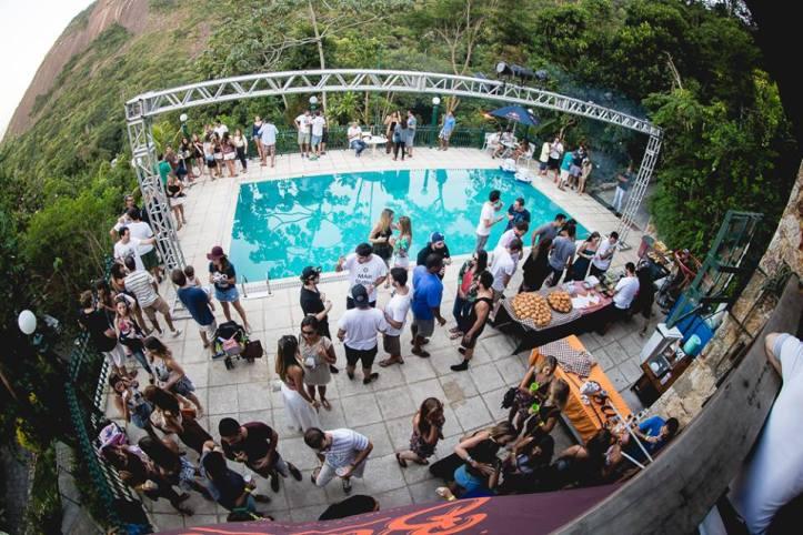 Casa no Cosme Velho onde rolou a 2ª edição (Foto: Diego Padilha/I Hate Flash)