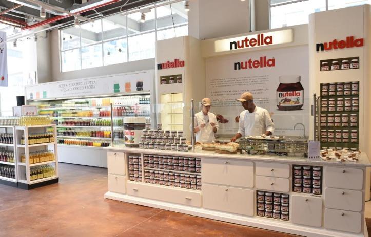 Um stand só de Nutella!!!!! <3 (Foto: Divulgação)