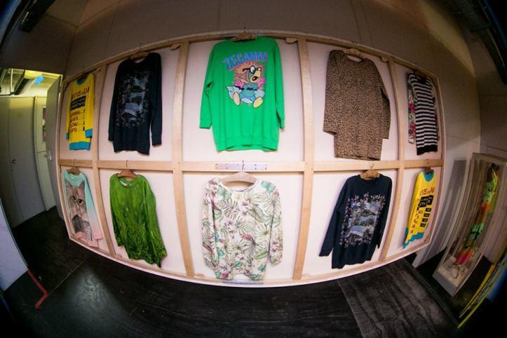 Algumas peças da coleção