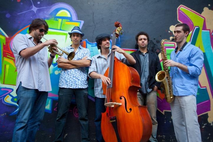 Quinteto Nuclear garante o jazz do FAL