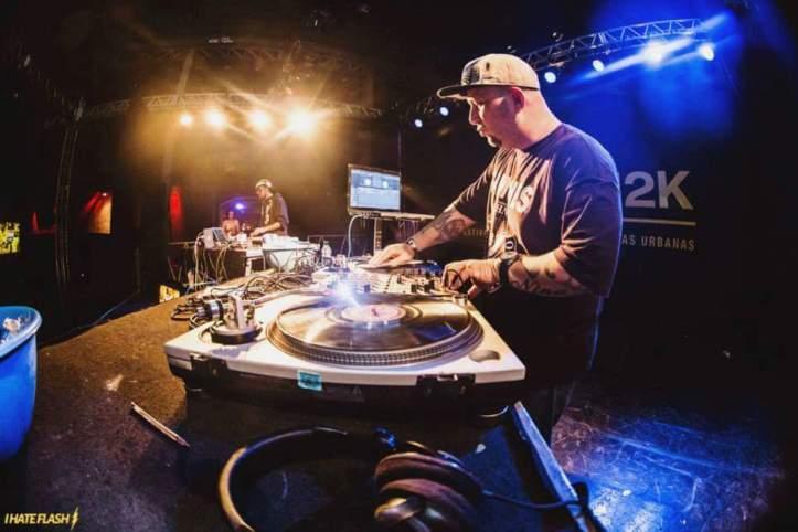 DJ Saddam mestre do Hip Hop (Foto: I Hate Flash)
