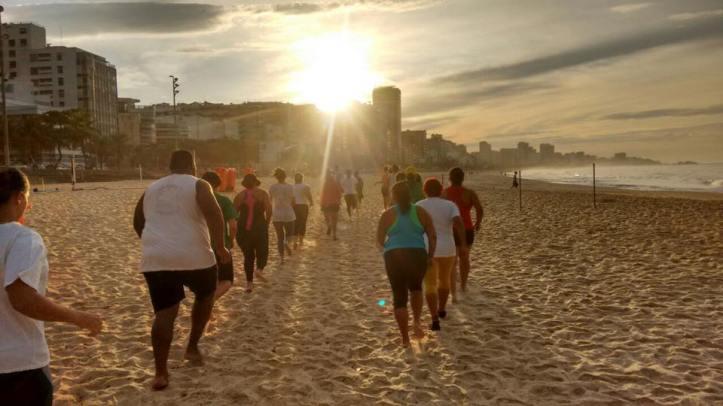 Corrida na areia é tenso! (Foto: Divulgação)