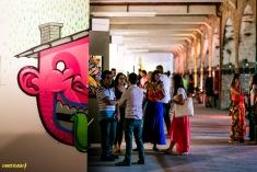 Art Rua rola pela 1ª vez no bairro do Santo Cristo (Foto: I Hate Flash)