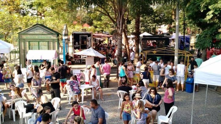 Food trucks voltam ao Jardim do Méier (Foto: Divulgação)
