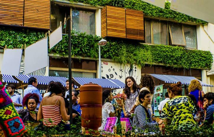 Praça Itália vira Quintal (Foto: Divulgação)