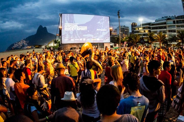 Rocky Spirit de volta ao Rio (Foto: Henrique Pinguim)