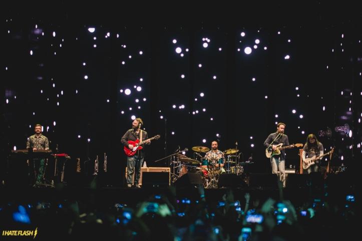 Los Barbudos no show em SP  (Foto: I Hate Flash)
