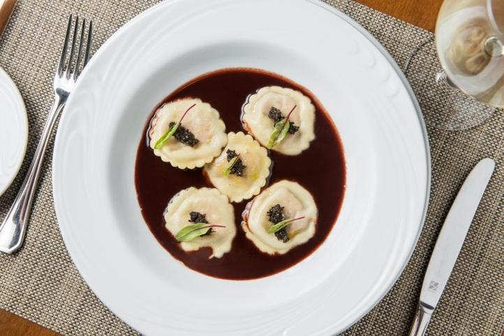 Ravióli de foie gras (Foto: Tomas Rangel)