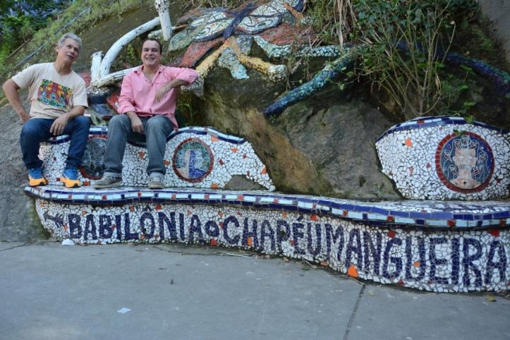 Os responsáveis Écio Salles e Julio Ludemir  (Foto: Divulgação)