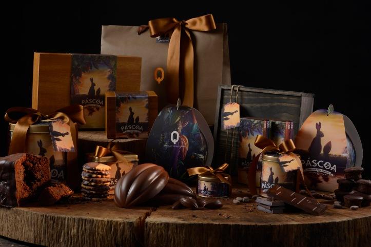 Chocolate Q_Linha Completa de Páscoa_Foto de Alexandre Landau