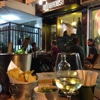 Fachada do Winehouse em Botafogo (Foto: Minha)
