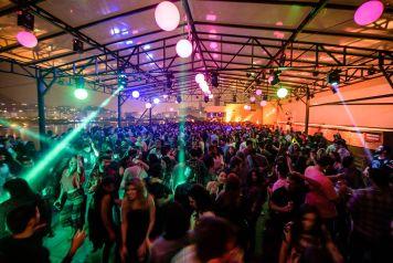 Festa Coordenadas de volta ao Terraço do FM Hall (Foto: Raphael Medeiros)