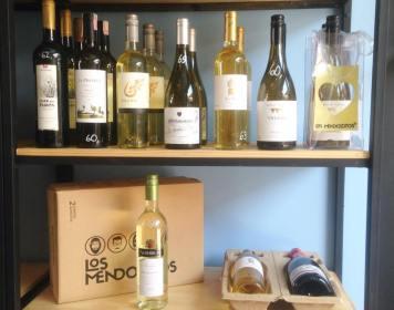 Vinhos brancos do Los Mendozitos (Foto: Reprodução)