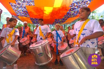 Escola de Música do Spanta Neném (Foto: Ivanildo Carmo)