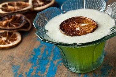Drink lindo do Barão (Foto: Rodrigo Azevedo)