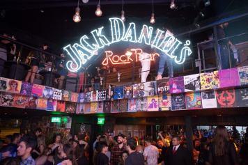 Jack Daniel's Rock Bar tá bombando na Lagoa (Foto: Camila Uchoa)