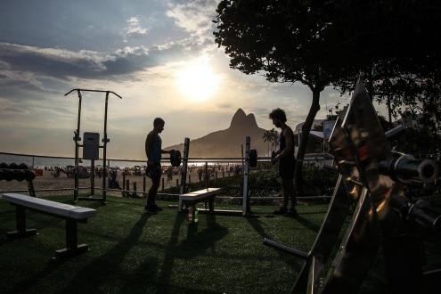 Rio Academia no Posto 10 em Ipanema (Foto: Divulgação)