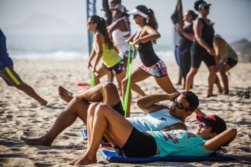 Beach Workout do Rio Praia Maravilhosa (Foto: Divulgação)
