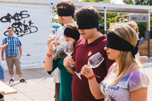 Degustação às cegas no Vinho na Vila (Foto: Divulgação)