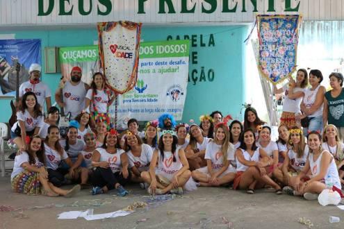 Projeto Musicalidade em Nova Iguaçu (Foto: Rebecca Oliveira)