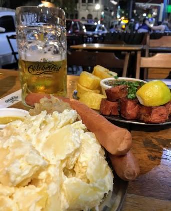 As comidas típicas do Bar Brasil
