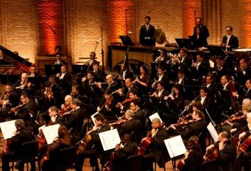 Orquestra Petrobras Sinfônica (Foto: Adriana Elias)