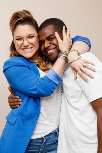 Pretinho da Serrinha e Maria Rita (Foto: Tarso Ghelli)