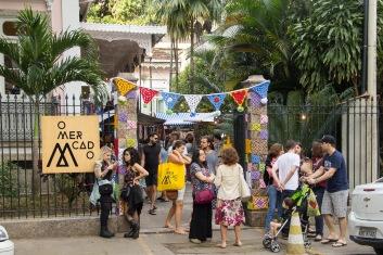 O Mercado no Solar das Palmeiras (Foto: Divulgação)